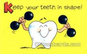 ocp040019 - Dentist Postcard Postcards