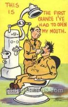 ocp040027 - Military Dentist Postcard Postcards
