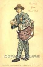 ocp060006 - Mailman, Postal Carrier, Postcard Postcards