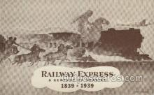 ocp060029 - Railway Express 1839- 1939, Mail Man, Mailman, Postal Man, Worker Postcard Postcards