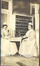 ocp080007 - Real Photo, Nurse & Equipment, Nurses, Postcard Postcards