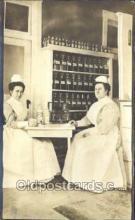 ocp080007 - Real Photo, Nurse & Equipment, Nurses, Postcard Postcards