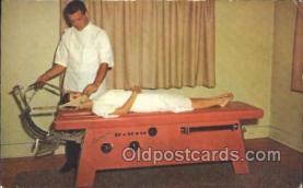 ocp100006 - Hill Laboratories co. Chiropractic, Chiropractor Medical Postcard Postcards