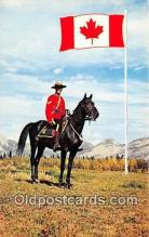 ocp100013 - Royal Canadian Mounted Police  Postcards Post Cards Old Vintage Antique