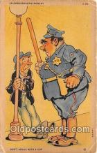 ocp100015 - Cop  Postcards Post Cards Old Vintage Antique