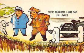 ocp100017 - State Police  Postcards Post Cards Old Vintage Antique