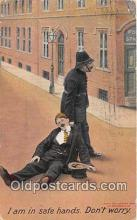 ocp100021 - Police, Cop  Postcards Post Cards Old Vintage Antique