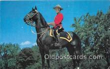 ocp100026 - Royal Canadian Mounted Police  Postcards Post Cards Old Vintage Antique