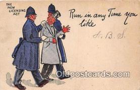 ocp100027 - Police, Cop  Postcards Post Cards Old Vintage Antique