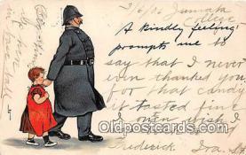 ocp100028 - Police, Cop  Postcards Post Cards Old Vintage Antique