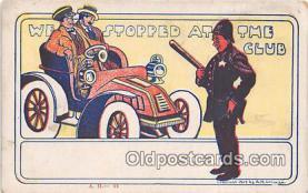 ocp100029 - Police, Cop  Postcards Post Cards Old Vintage Antique
