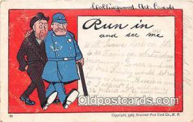ocp100030 - Police, Cop  Postcards Post Cards Old Vintage Antique