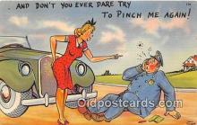 ocp100031 - Police, Cop  Postcards Post Cards Old Vintage Antique