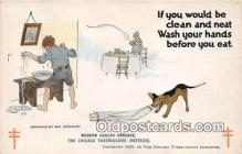 ocp100055 - Modern Health Crusade Chicago Tuberculosis Institute Postcards Post Cards Old Vintage Antique