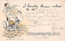 ocp100079 - Barber  Postcards Post Cards Old Vintage Antique