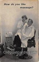ocp100084 - Barber  Postcards Post Cards Old Vintage Antique