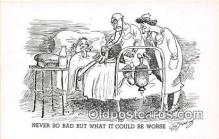 ocp100090 - Doctor Wm Standing Postcards Post Cards Old Vintage Antique
