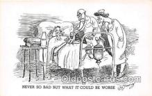 ocp100094 - Doctor Wm Standing Postcards Post Cards Old Vintage Antique