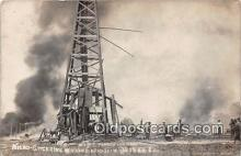ocp100124 - Real Photo - Nitro Glycerine Wagon Explosion  Postcards Post Cards Old Vintage Antique