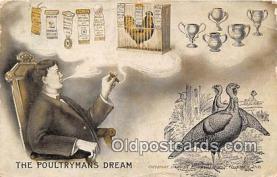ocp100140 - Poultrymans Dream  Postcards Post Cards Old Vintage Antique