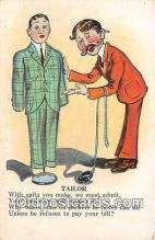 ocp100144 - Tailor  Postcards Post Cards Old Vintage Antique