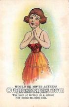 ocp100145 - Movie Actress  Postcards Post Cards Old Vintage Antique
