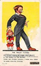 ocp100149 - Proud Father  Postcards Post Cards Old Vintage Antique
