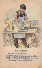 ocp100162 - The Carpenter  Postcards Post Cards Old Vintage Antique