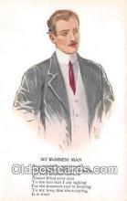 ocp100164 - Business Man  Postcards Post Cards Old Vintage Antique