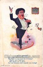ocp100167 - Silly Singer  Postcards Post Cards Old Vintage Antique