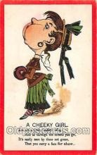 ocp100170 - Cheeky Girl  Postcards Post Cards Old Vintage Antique