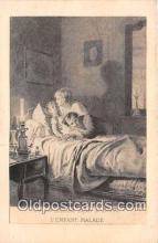 ocp100175 - L Enfant Malade  Postcards Post Cards Old Vintage Antique