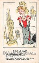 ocp100184 - Old Maid  Postcards Post Cards Old Vintage Antique