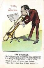 ocp100187 - Musician  Postcards Post Cards Old Vintage Antique