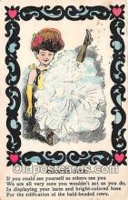 ocp100200 - Chorus Girl  Postcards Post Cards Old Vintage Antique