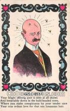 ocp100203 - Bald Head  Postcards Post Cards Old Vintage Antique