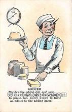 ocp100204 - Grocer  Postcards Post Cards Old Vintage Antique