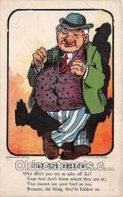 ocp100211 - Fat Fellow  Postcards Post Cards Old Vintage Antique