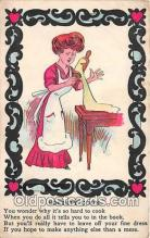 ocp100213 - Society Cook  Postcards Post Cards Old Vintage Antique