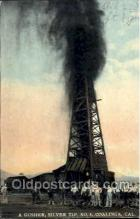 oil001003 - Coalinga, California, USA, Oil Wells Postcard Postcards