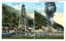 oil001008 - Clarion, PA, USA, Oil Wells Postcard Postcards