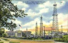oil001009 - Oklahoma City, Oklahoma, USA, Oil Wells Postcard Postcards