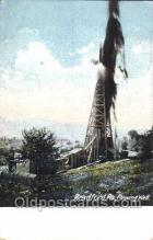 oil001013 - Bradford, Pa, Usa Oil Well, Oil Wells Postcard Postcards