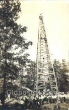 oil001015 - Mackinaw, Akansas, USA Oil Well, Oil Wells Postcard Postcards