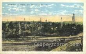 oil001017 - Claiborne Field, Shreveport, La, Usa Oil Well, Oil Wells Postcard Postcards