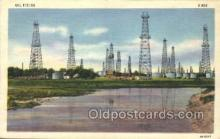 oil001019 - Field Oil Well, Oil Wells Postcard Postcards