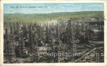 oil001020 - Southern California, Usa Oil Well, Oil Wells Postcard Postcards