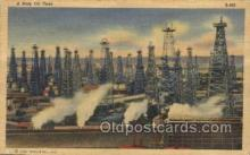 oil001021 - Oil Well, Oil Wells Postcard Postcards