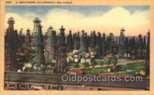 oil001025 - Southern California, Usa Oil Well, Oil Wells Postcard Postcards