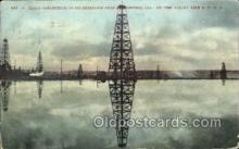 oil001026 - Oil Well near Bakersfield, California, USA, Oil Wells Postcard Postcards